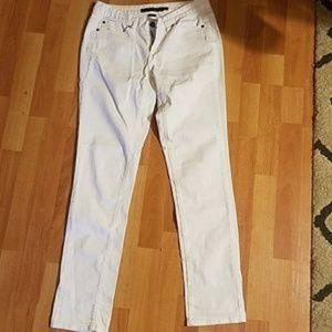 Calvin Klein Ultimate skinny white jeans